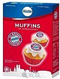 Backmischung Bayern MÜNCHEN kompatibel Muffins Kuchen + Sticker München Forever
