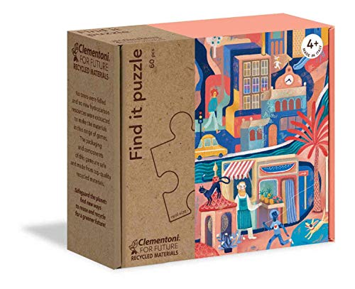 Play for Future  Encuentra: Mi Jardín Puzzle, 60 Piezas, Multicolor (16219)