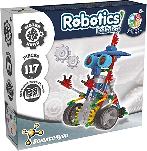 Science4you-Robotics Robotics Deltabot - Juguete Científico y Educativo Stem para Niños +8...