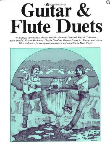 Guitar And Flute Duets (Efs69) (Album): Noten, Solostimme für Flöte, Gitarre (Classical Guitar)