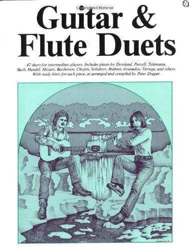 Guitar And Flute Duets (Efs69) (Album): Noten, Solostimme für Flöte, Gitarre (Classical Guitar)