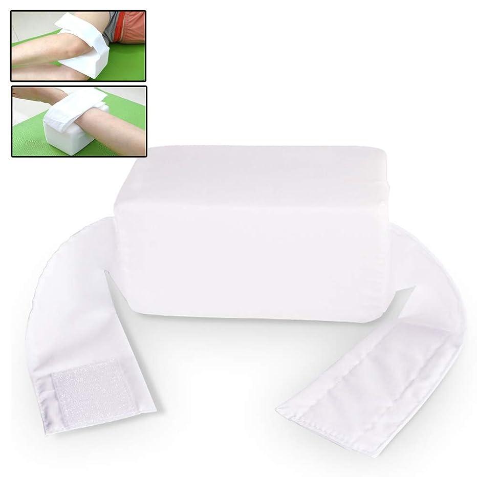 数字湿度省略調節可能なストラップ付きの多機能抗床ずれ膝枕 -サイドスリーパー、坐骨神経痛、妊娠と関節痛のためのくさびスポンジ枕