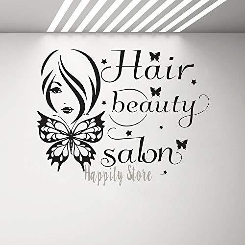 Nailstickers, wandstickers, voor nail salon, kunst, schoonheidssalon, manicure, kapsalon