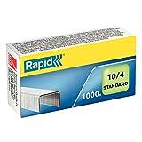 Rapid Heftklammern (No. 10 Standard, verzinkt) 1000 Stück