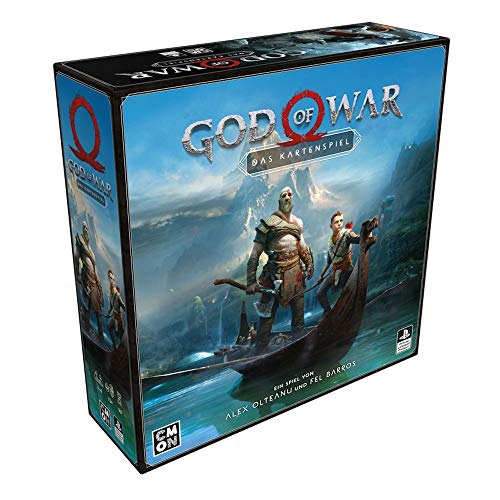 Cool Mini or Not CMND0117 God of War: Das Kartenspiel, Mehrfarbig, bunt