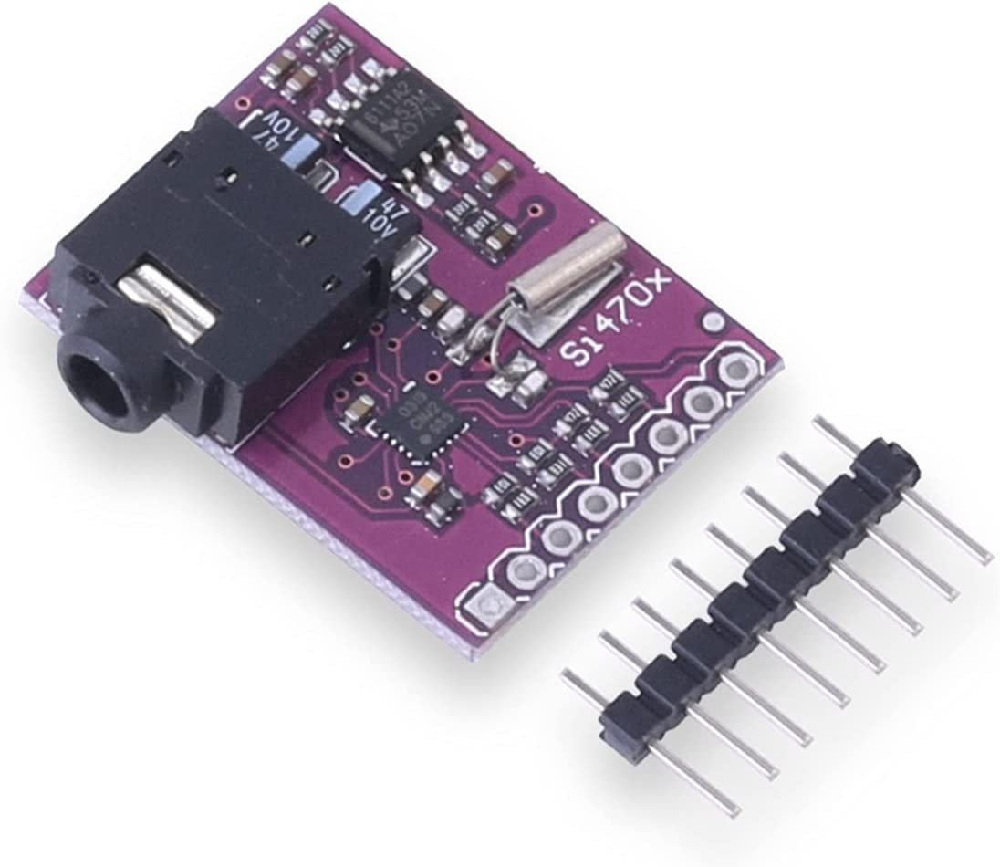 SEEU. AGAIN 1Pcs Si4703 RDS FM Radio Tuner Evaluation Breakout Board for AVR ARM PIC