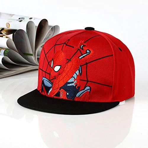 WULIAN Doitbest 2 bis 8 Jahre Kind Cartoon Sommer Baseball Cap Nummern Spiderman Frühling Kinder Sonnenhut Jungen Mädchen Kappen Snapback Hut, 7,2 bis 8 Jahre alt