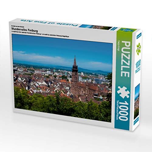 CALVENDO Puzzle Wundervolles Freiburg 1000 Teile Lege-Größe 64 x 48 cm Foto-Puzzle Bild von Midgardson