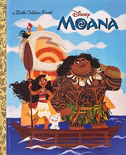 Moana Little Golden Book (Disney Moana)