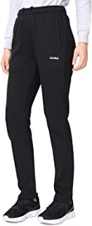 CAMELSPORTS Women's Joggers Fleece Sweatpants with Pockets Comfy Running Athletic Workout Sports Pants