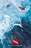 DIVER'S LOG BOOK: scuba diving log book 100 dives - scuba diving log book