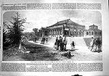 Jardines Botánicos 1867 de la Casa Templada del Invernadero Kew