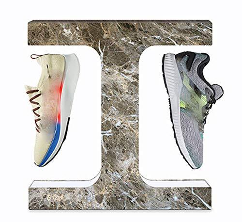 Magnetschwebebahn 360 ° drehbarer schwimmender Sneaker-Präsentationsständer mit LED, geeignet zur Aufbewahrung und Präsentation von Sportschuhen, Sneaker-Liebhabern, Ausstellungen, Schaufenstern usw.