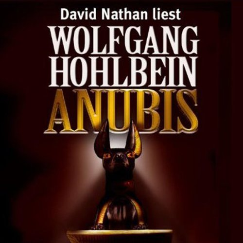 Anubis audiobook cover art