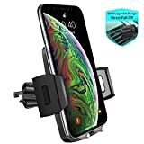 Air Vent Car Phone Mount,Miracase Universal Vehicle Cell Phone Holder for Car with 360 Degrees Rotation Compatible for iPhone Xs/Xs Max/XR/X/8/8 Plus/7/7 Plus, Galaxy S10/S10+/S9/S9+ and More (Gray)