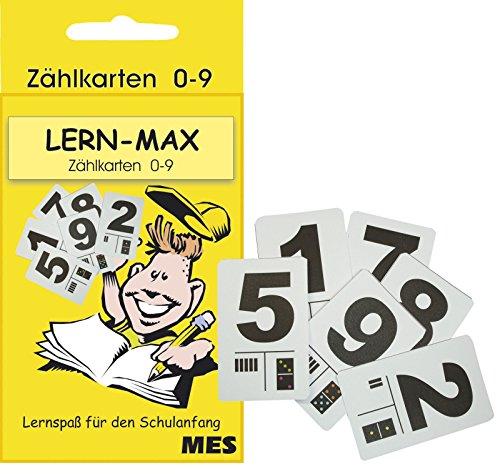 SEEHAUS 1991 Lernfix Zählkarten 0-9 in Schachtel