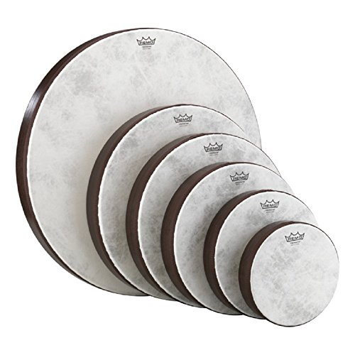 Set of 6 Remo Fiberskyn 8-22 inch Hand Drums (Teen/Adult)