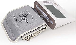 Tensiómetro de brazo Monitor de presión arterial del brazo superior - Medida de la glucosa en sangre hogar médico Cuidado mayor recargable monitorización inteligente de ritmo cardíaco esfigmomanómetro