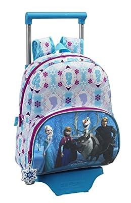 Disney Frozen-La Reina Elsa y Anna, Frozen Mochila con ruedas (S020), diferentes motivos de Disney