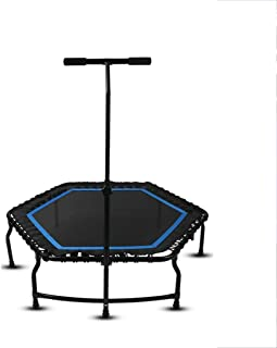 Trampoline Portable Fitness Trampoline, Sports Trampoline for Indoor And Outdoor Use, Professional Aerobic Trampoline Indo...