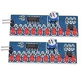 Esenlong NE555+CD4017 LED Chaser agua que fluye módulo de luz DIY Kit circuito electrónico 2 unids/lote