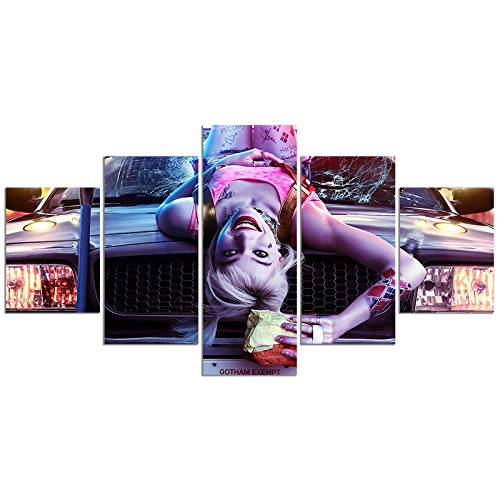 51Q91Rv6iQL Harley Quinn Birds of Prey Posters