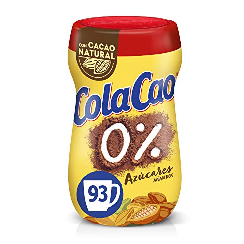ColaCao 0{94ea62ec4c02d8254991332be50195116706d337f79ebfae208b9d12c3530869} Azúcares añadidos - 700g