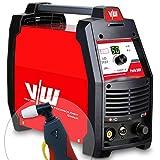 Plasmaschneider Plasmaschneidgerät Plasmacutter Plasma Cut Cutter mit 50 Ampere und Kontaktzündung + digitales Anzeigendisplay - schneidet bis 15 mm - von Vector Welding
