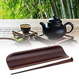 Niiyen Accesorios de té, Utensilios de té de bambú Herramientas de tamaño Mediano Utensilios para la Ceremonia del té Juego de Herramientas Cuchara de té, Herramientas Importantes para la Ceremonia