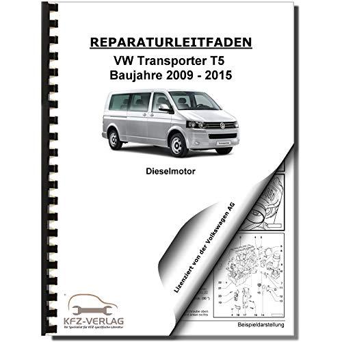 VW Transporter T5 09-15 4-Zyl 2,0l Dieselmotor TDI 84-180 PS Reparaturanleitung