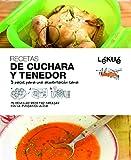 Lékué Libro de cocina De Cuchara y Tenedor, Negro, Único