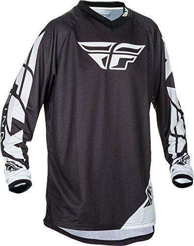 Fly Racing Universal Motocross/Mountainbike Jersey Kids schwarz YXL