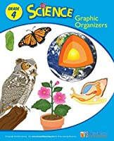 Grade 4 Science Graphic Organizer Workbook Set/10 - Visual Outlines and Assessments for 25 Key Science Topics (53 pp EA) [並行輸入品]