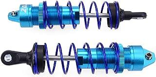 Rear Shock Absorber Damper 114mm For 1/10 Traxxas Slash-4x4 Huanqi 727 Rc Car 1/10 Remote Control Traxxas Slash 4x4 Rear Shock Absorber 114mm Light Blue