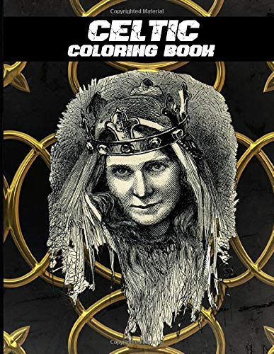 Celtic Coloring Book: Celtic Stress Relieving Book for Adults Teens Children Relaxation and Draw