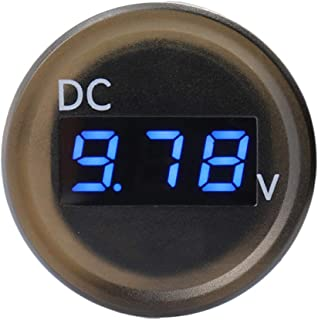 Zerama Probador de Voltaje Automotive Impermeable 2.5-30V Rango de medición del Barco del Coche