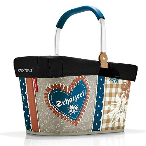 reisenthel Angebot Einkaufskorb carrybag Plus passendes Cover Sichtschutz Abdeckung (Bavaria 4)