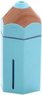 YBZS Air Purifier Pencil Humidifier USB Ultrasonic Aromatherapy Air Humidifier LED Light Aroma Diffuser Mist Maker Fogger Mini Car,Blue