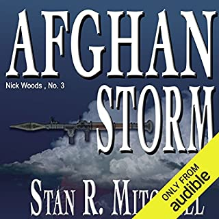 Afghan Storm audiobook cover art