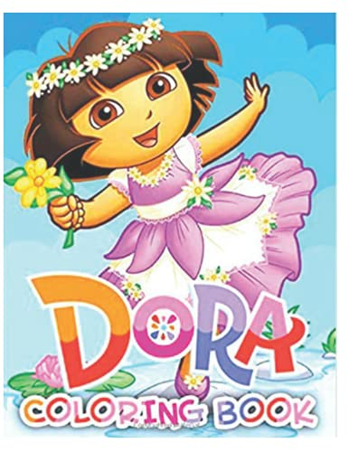 Dora Coloring Book: Easy Coloring Book For Fans Of Family Guy With Easy Coloring Pages In High-Quality   Perfect Way Encouraging Creativity And Build Hand-Eye Coordination