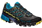 La Sportiva Akyra, Zapatillas de Trail Running para Hombre, Multicolor (Carbon/Tropic Blue 000), 43...