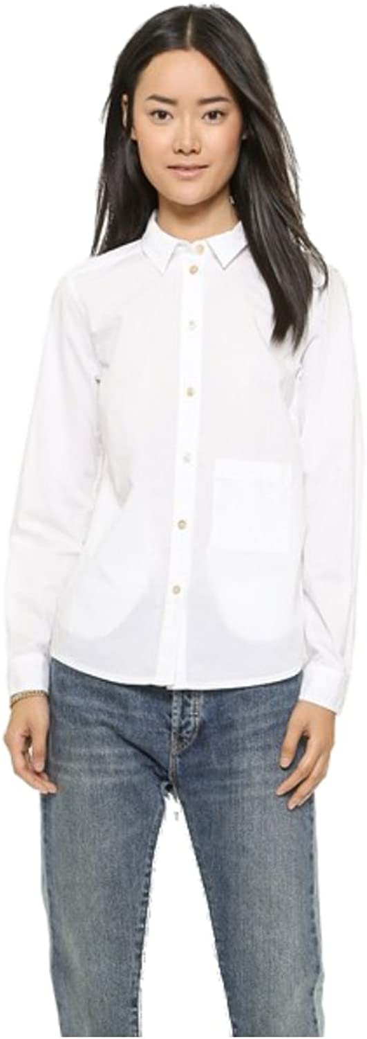 Marc by Marc Jacobs Women's Lyra Washed Poplin Button Down