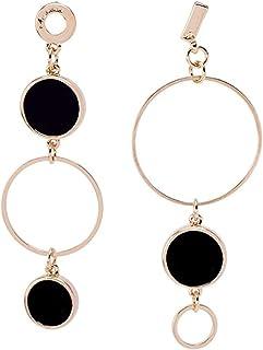Pendientes Pendientes de anillo de viento frío moda exquisita popular temperamento clásico estilo largo personalidad salva...