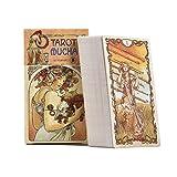 78 Tarot Karten,Träume Von Gaia Tarot-Karten Anfänger Tarot Leite Den Weg Reinige Den Geist Tarot Kartendeck Erzählen Set Mit Karten Für Hausparty(Englische Version)