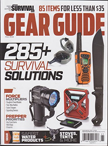 American Survival Guide Gear Guide 2016