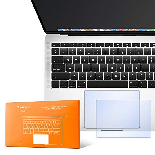 UPPERCASE GhostCover Touch Premium Trackpad Protector with Matte Finish (Retina MacBook Air 13' (2018+), Matte Clear A1932)