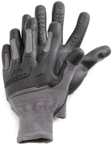 Madgrip Glove Latex Small /Medium, Black / Gray -  Mad Grip, 459509