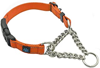Max and Neo Stainless Steel Chain Martingale Collar - We Donate a Collar to a Dog Rescue for Every Collar Sold
