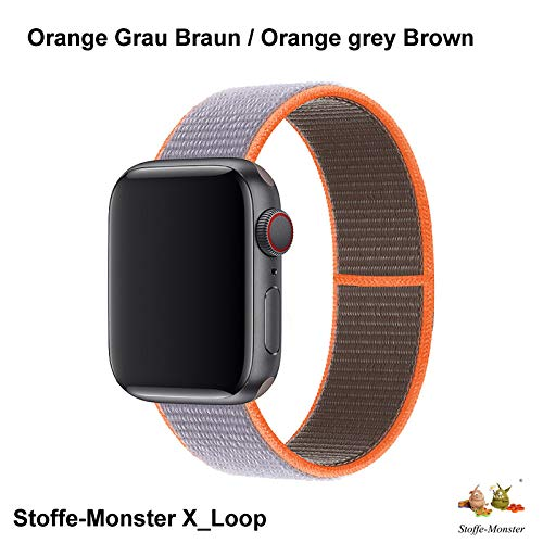 Stoffe-Monster X_Loop Watch Armband Sport C Vitamin 42mm / 44mm