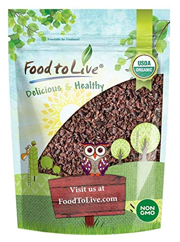 Food To Live Cacao Nibs (64 Servings)